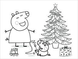 Peppa Pig Colouring Pages Printable Pig Color Pages Pig Coloring