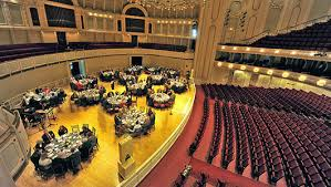 Symphony Center Seating Chart Chicago Facility Rentals