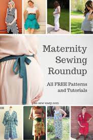 Maternity Patterns Stunning Maternity Sewing Patterns And Tutorials Roundup All FREE Sewing