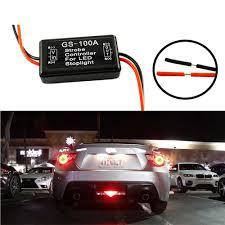 Brake Light Flasher For Car 2019 New Auto Car 12v Gs 100a Led Brake Stop Light Strobe Flash Flashing Controller Box