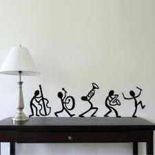 creative wall decals relax n rave decor drama with wall decals easy creative  wall painting ideas