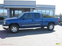 Silverado 2003 chevy silverado extended cab : 2003 Arrival Blue Metallic Chevrolet Silverado 1500 Z71 Extended ...