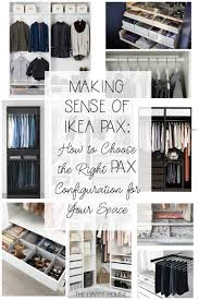 today i m here to share my best tips on planning and sorting out all the pieces so you can order the perfect pax configuration for your closet space