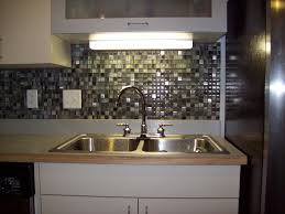 Kitchen Backsplash Designs Captivating Ocean Glass Subway Tile Backsplash Ideas Home Design