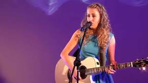 STOP - ASHLEIGH BURNS at TeenStar Singing Contest - YouTube