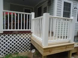 image of nice diy porch railing