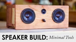 Diy Bluetooth Speaker Design Basic Tool Bluetooth Speaker Build For Under 90 Diy Speaker Project
