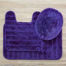mohawk home veranda 3 piece bath rug set in midnight