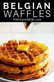 Light N Crispy Waffles An Easy And Authentic Belgian Waffle Recipe For The Best