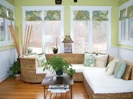 40 Creative Patterned Roman Shades HGTV Fascinating Living Room Shades Decor