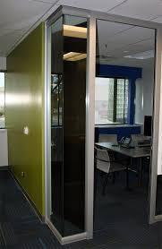 glass office front door. Glass Office Front With Open Corner Door 6