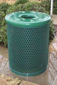 diamond thermoplastic trash receptacle wc series
