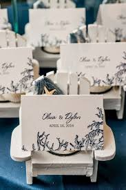 best 37 place card inspiration ideas images on pinterest weddings Beach Themed Wedding Place Cards what a great favor and or escort card holder! these little white wooden adirondack beach themed place cards for wedding