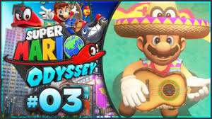 super mario odyssey sand kingdom 100 walkthrough part 3
