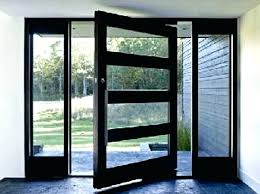 cozy steel entry doors with glass modern exterior front doors exterior doors with glass modern exterior