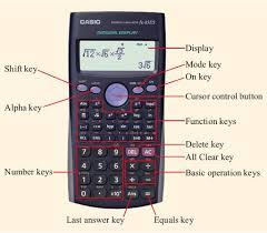 using a scientific calculator view as