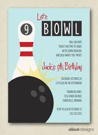Bowling Party Invitation 52 Best Bowling Party Invitations Images Invitations Birthday