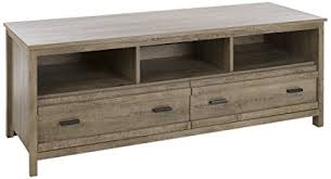 weathered oak tv stand. South Shore Exhibit TV Stand For TVs Up To Weathered Oak With Tv