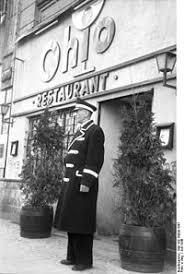 the doorman from the ohio bar in berlin in 1948