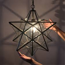 cut glass ceiling light