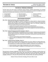 Technical Trainer Resume Personal Trainer Resume Should Explain An Expertise Area Of The