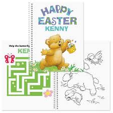 Easter Color Activity Book Lillian Vernon