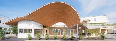 Small School Building Design Small Kindergarten With A Large Roof Toranoko Nursery