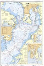 Noaa Chart 11416 Noaa Nautical Chart 11416 Tampa Bay Safety Harbor St Petersburg Tampa