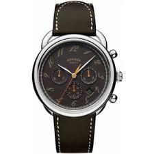 hermes watches jomashop hermes arceau black dial automatic men s chronograph watch