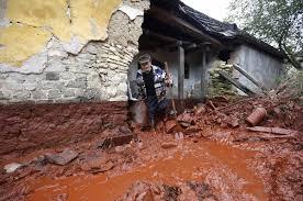 Крупные техногенные катастрофы в мире в гг РИА Новости  reuters laszlo baloghДеревня Колонтар после розлива токсических отходов