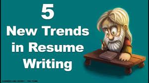 5 New Trends In Resume Writing Youtube