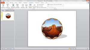 Powerpoint Frame Theme Powerpoint Training How To Create A Photo Frame With Shapes In Powerpoint