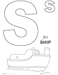 Free Printable Alphabet Colouring Pages Letters Coloring Pages