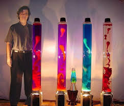 What Are Lava Lamps Made Of Stunning Giant Lava Lamp International Robotics Inc Pioneers Of Techno With