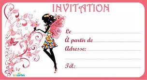 Carte D Invitation Anniversaire Czeckitout