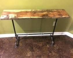 industrial pipe furniture.  Industrial Black Pipe Furniture Industrial  Entryway Table Rustic In Industrial Pipe Furniture A