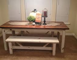 kitchen wood furniture. Bench : Fascinating Rustic Nail Farm Style Kitchen Table And Benches To Match Images Of Fresh On Decoration 2016 Tables With Popular Wood Furniture D