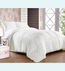 premium white fiber super soft duvet by story home