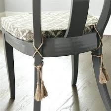 designer chair pads tie on dining chair cushions now