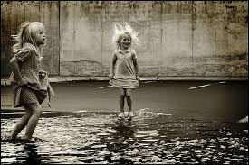 Jump | Photo, Singing in the rain, Beautiful children