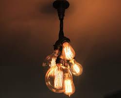 industrial chandelier ceiling light edison bulb cer edison light bulb chandelier
