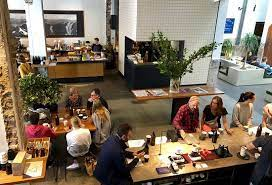 Russell beard of the famed reuben hills café in surry hills has joined forces with melbourne's specialty roasters seven seeds to bring you the paramount coffee project (pcp). From Above Picture Of The Paramount Coffee Project Sydney Tripadvisor