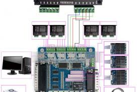 db25 breakout board wiring diagram wedocable 5 axis breakout board wiring