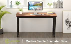 large office desk. LITTER TREE Computer Table Desk, Large Office Desk Study Writing - Modern, Simple, Sturdy \u0026 Easy To Assemble