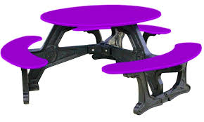 lovable plastic round picnic tables simply playgrounds