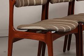 modern fabric dining chairs lovely mid century od 49 teak dining chairs by erik buch for set of 2