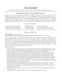 Communication Resume Extraordinary Communication Director Resume Examples Combined With Creative
