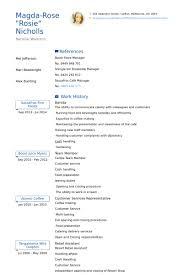 Barista Resume Samples Visualcv Resume Samples Database