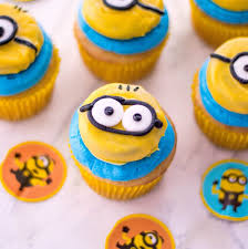 Easiest Ever Minion Cupcakes Recipe Baking Beauty