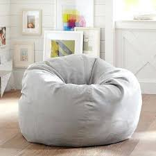 suede bean bag teen light grey suede beanbag slipcover only at pottery barn teen suede bean bags uk